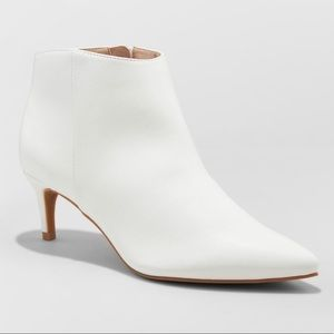 NEW A New Day White Bootie